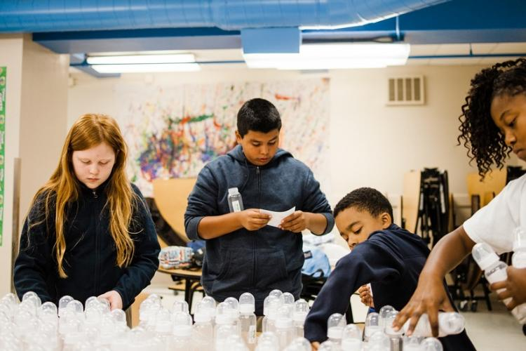 Holy Family offers an excellent, hands-on science and technology curriculum.