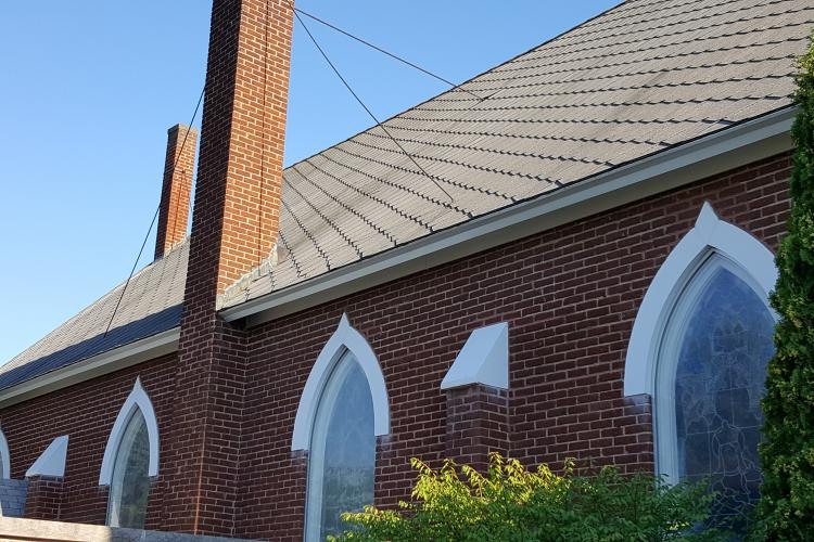 Church Repairs Made Possible with Black & Indian Commission Support