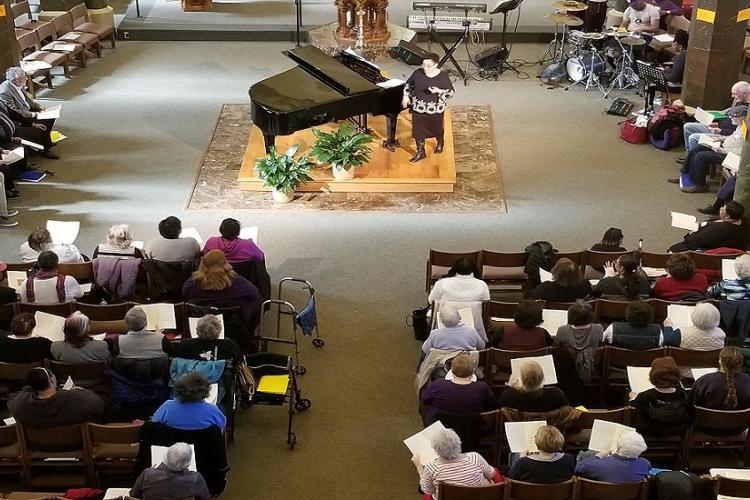 100+ gospel music-lovers attended the 2019 GMW